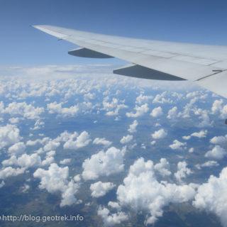200126 ウルグアイ上空の綿雲