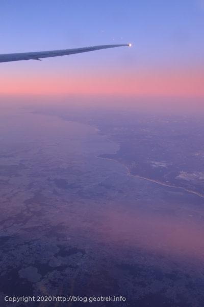 200128 オホーツク海、流氷
