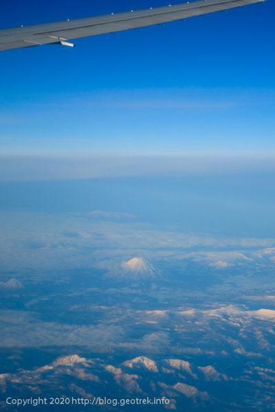 200128 空から見る、後方羊蹄山