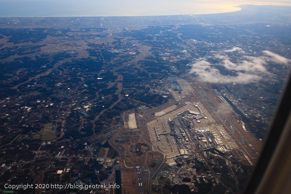 200116 成田空港上空