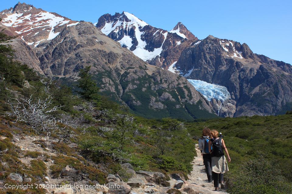 200118 フィッツロイ・トレッキング、Glaciar Piedras Blancas