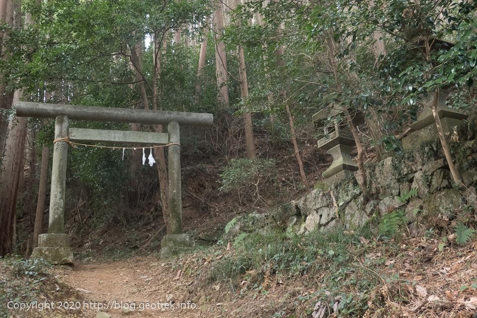 200215 琴平神社の鳥居