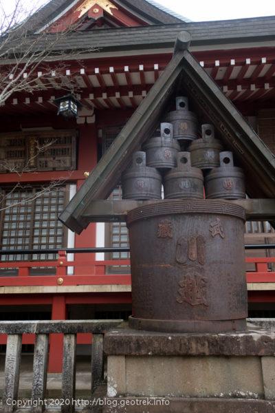 200307 阿夫利神社の酒樽
