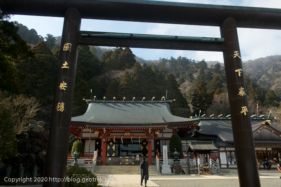 200307 大山阿夫利神社下社