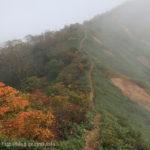 風雨の中、ムジナ平を目指す~白砂山から三国峠(2)
