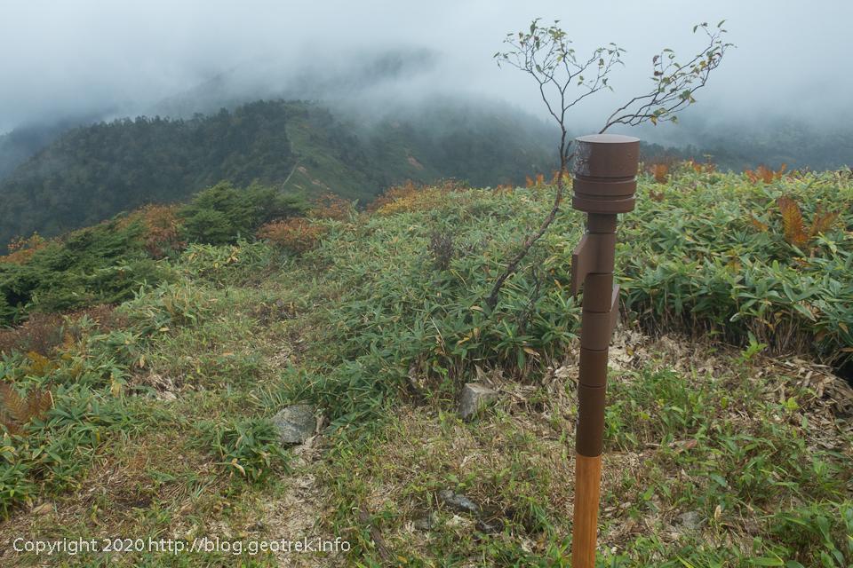 200928 上ノ間山山頂