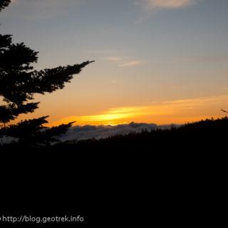 200928 ムジナ平の夜明け