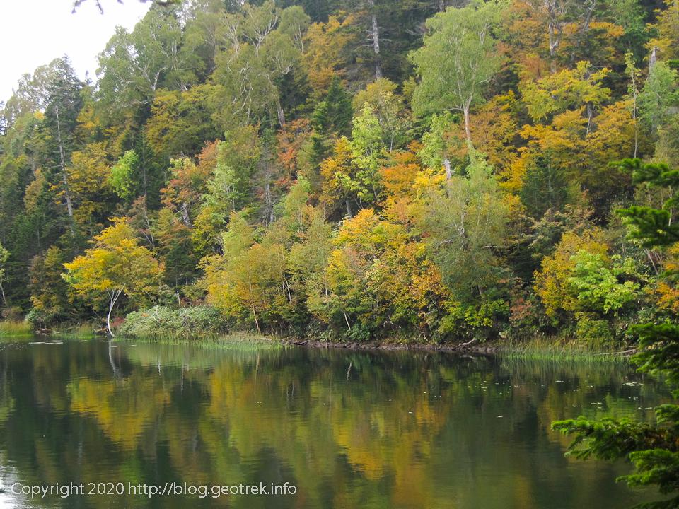 201003 尾瀬沼の紅葉