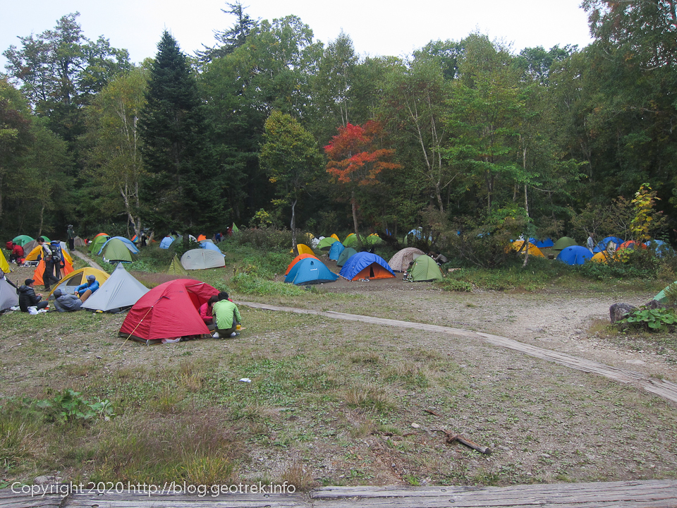 201003 見晴キャンプ場は密