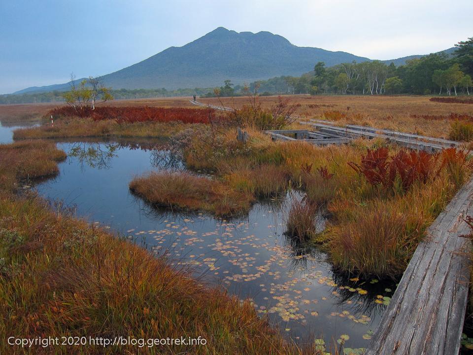 201004 湿原の紅葉と燧ヶ岳
