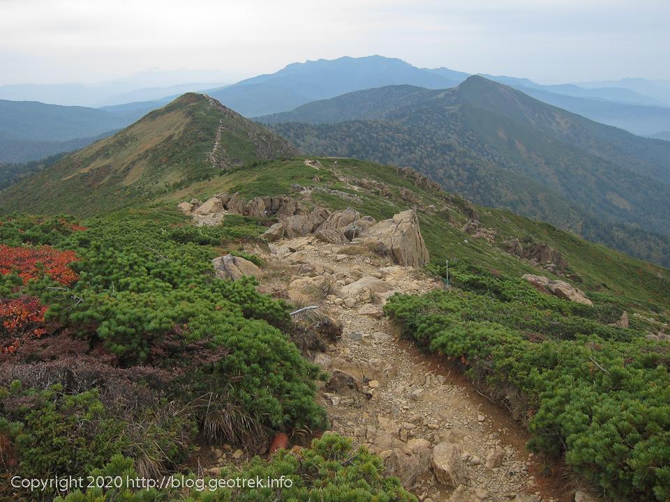 201004 至仏山から鳩待峠方面