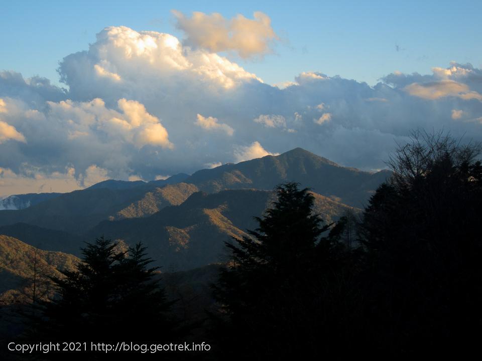 201024 山の一日が終わる