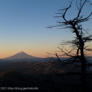 201024 夜明けの富士山
