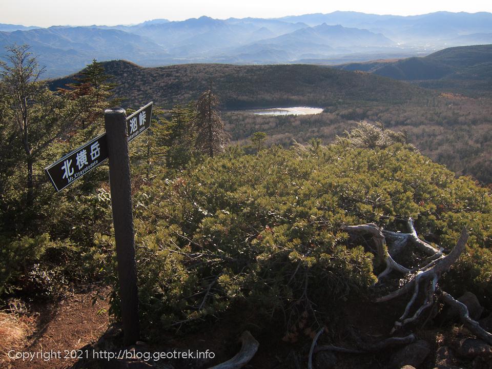 201031 北八ヶ岳・三ッ岳から雨池