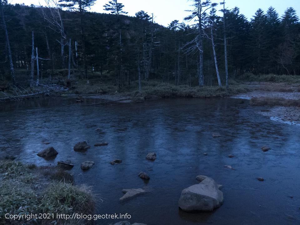 201031 北八ヶ岳・茶水池