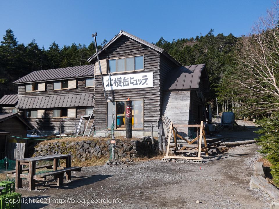 201031 北横岳ヒュッテ