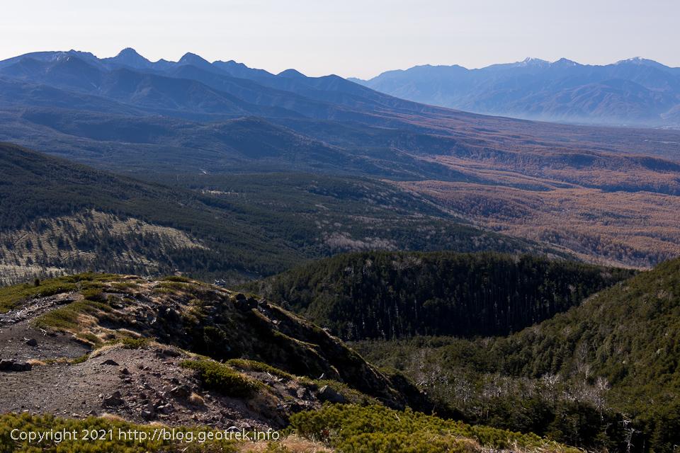 201031 北横岳からの景色