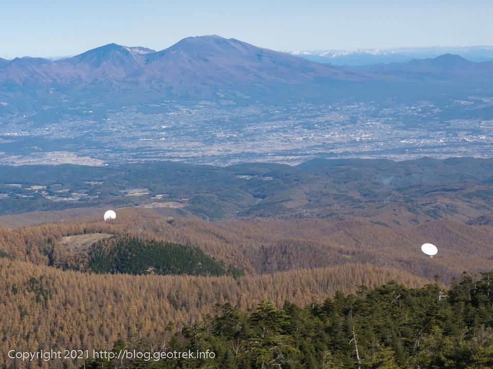 201031 大岳からJAXA