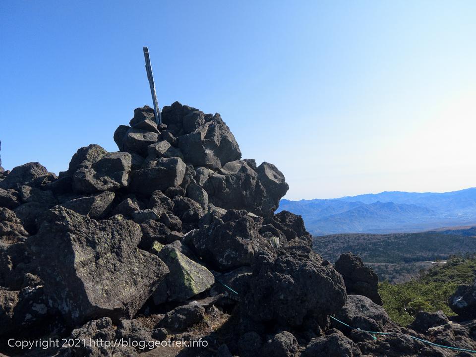 201031 大岳山頂
