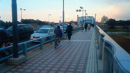 110311地震後の橋