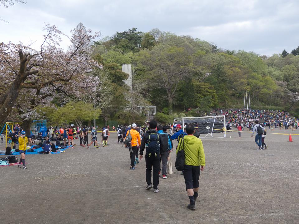 210404 スタート地点の青梅永山公園