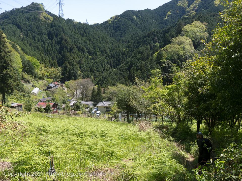 210418 盆堀林道