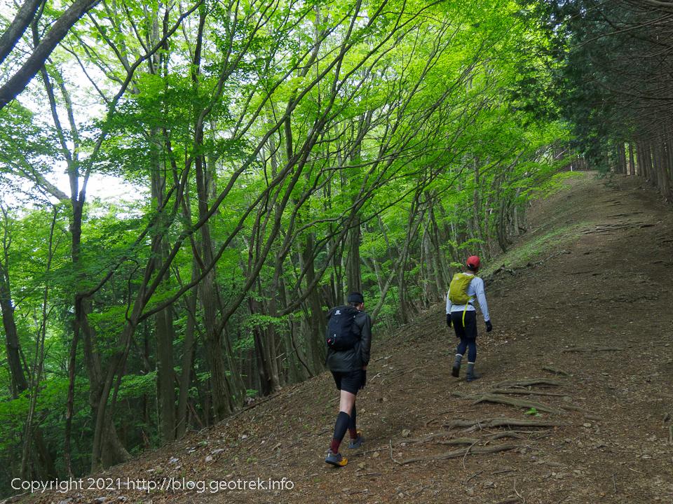 210515 御前山への登り