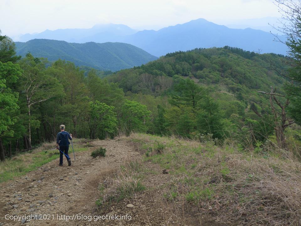 210529 鷹ノ巣山から下山