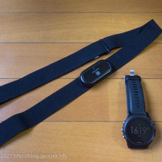 210801 Garmin ForeAthleteとCatEye HR-11