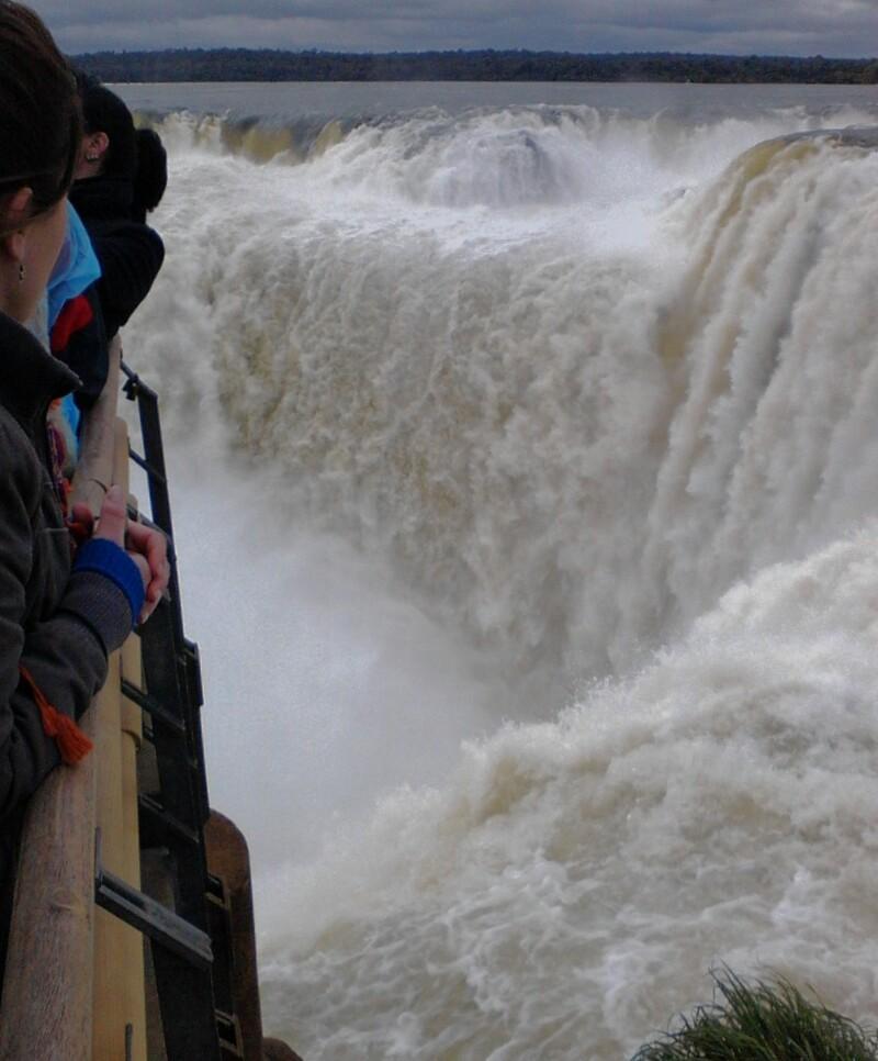イグアスの滝、悪魔の喉笛