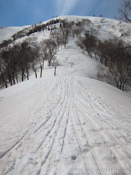 120421会津駒ヶ岳・下りは速い