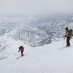 雪に追われて滑降~越後駒ケ岳(2)