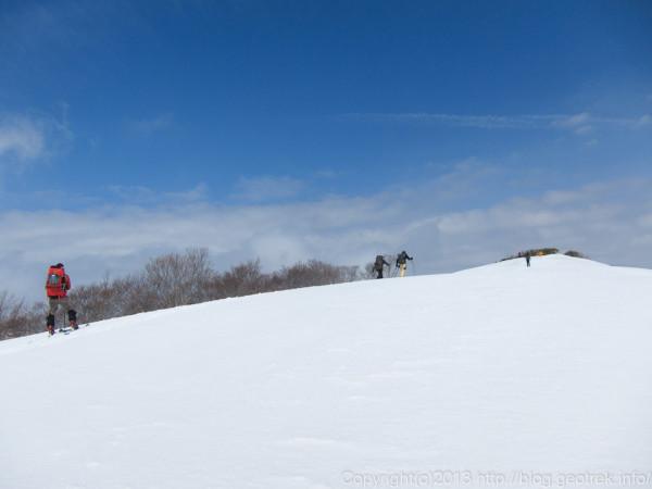 道雪山山頂