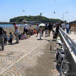 大混雑の江ノ島ツーリング