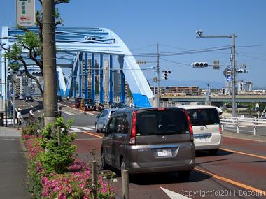 120505江ノ島ツーリング・多摩川を渡る