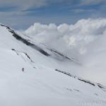 富士山、滑り納め~富士山