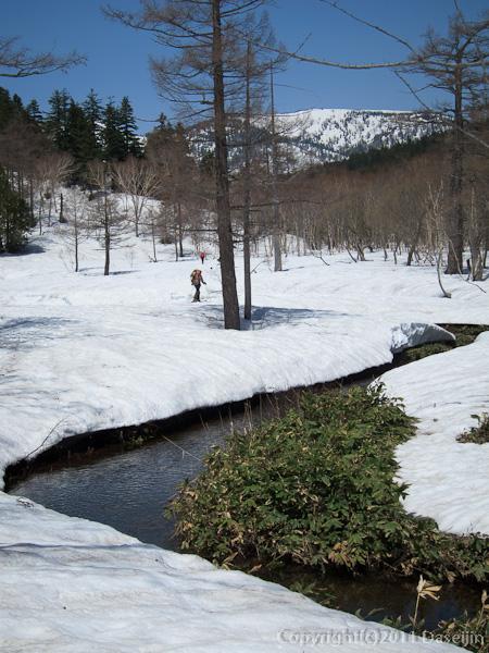120428平ヶ岳・猫又川を遡る