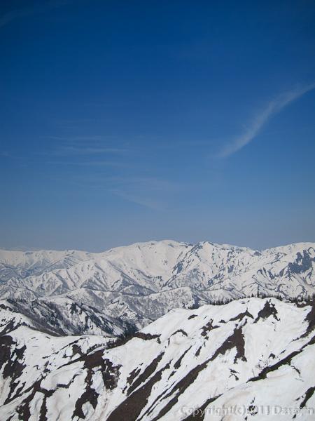 120429平ヶ岳・巻機山方面