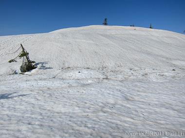 120429平ヶ岳・稜線分岐1911ピーク