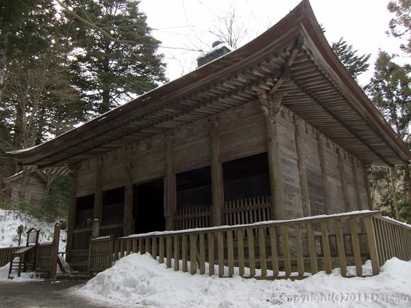 120213世界遺産平泉・旧覆堂
