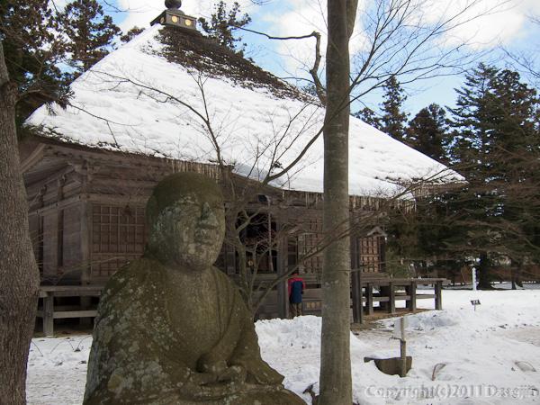 120213世界遺産平泉・毛越寺常行堂