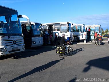 120805アイスランド、グリーンランドの旅・BSIバスターミナル