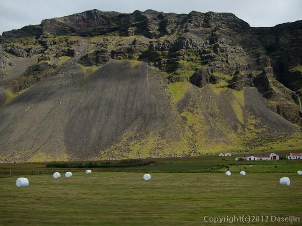 120806アイスランド・グリーンランドの旅、1号線の景色