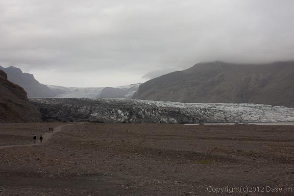 120806アイスランド、グリーンランドの旅・スカフタフェットル氷河