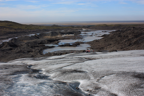 120807アイスランド、グリーンランドの旅・氷河から振り返る