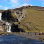火の渓谷エルドギャ、そして荒野のオアシス、ランドマンナロイガルへ~アイスランド&グリーンランド(12)