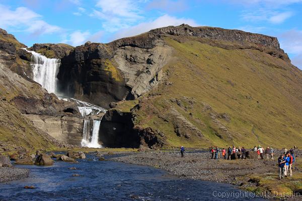 120808アイスランド、グリーンランドの旅・Ofairufoss