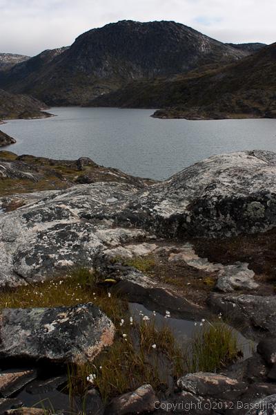 120811アイスランド、グリーンランドの旅・イルリサットには池がたくさんある