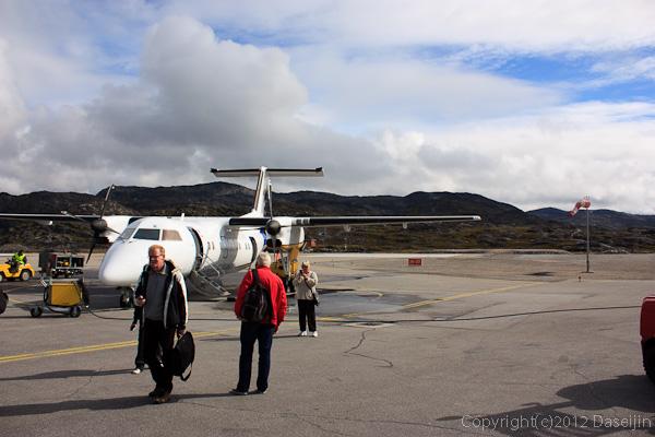 120810アイスランド、グリーンランドの旅・イルリサットに到着