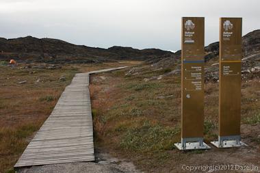 120811アイスランド、グリーンランドの旅・イルリサット世界遺産地区入り口